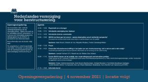 Agenda openingsvergadering